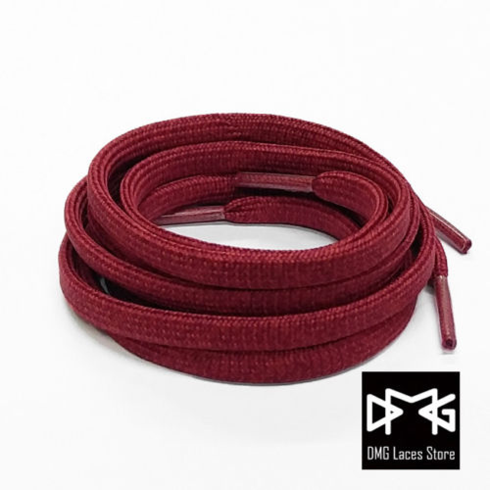 Multi-color Flat Laces ( Burgundy )