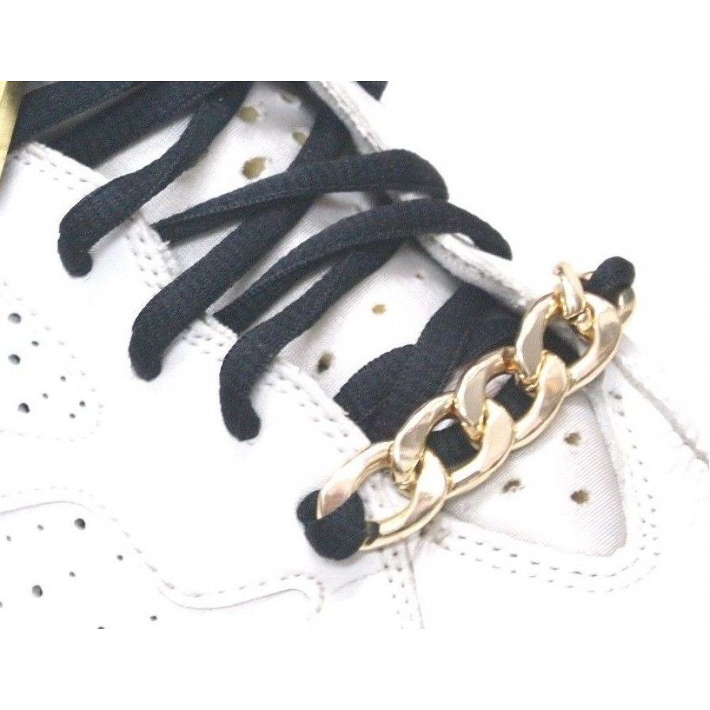 Chain Laces Locks ( Gold )