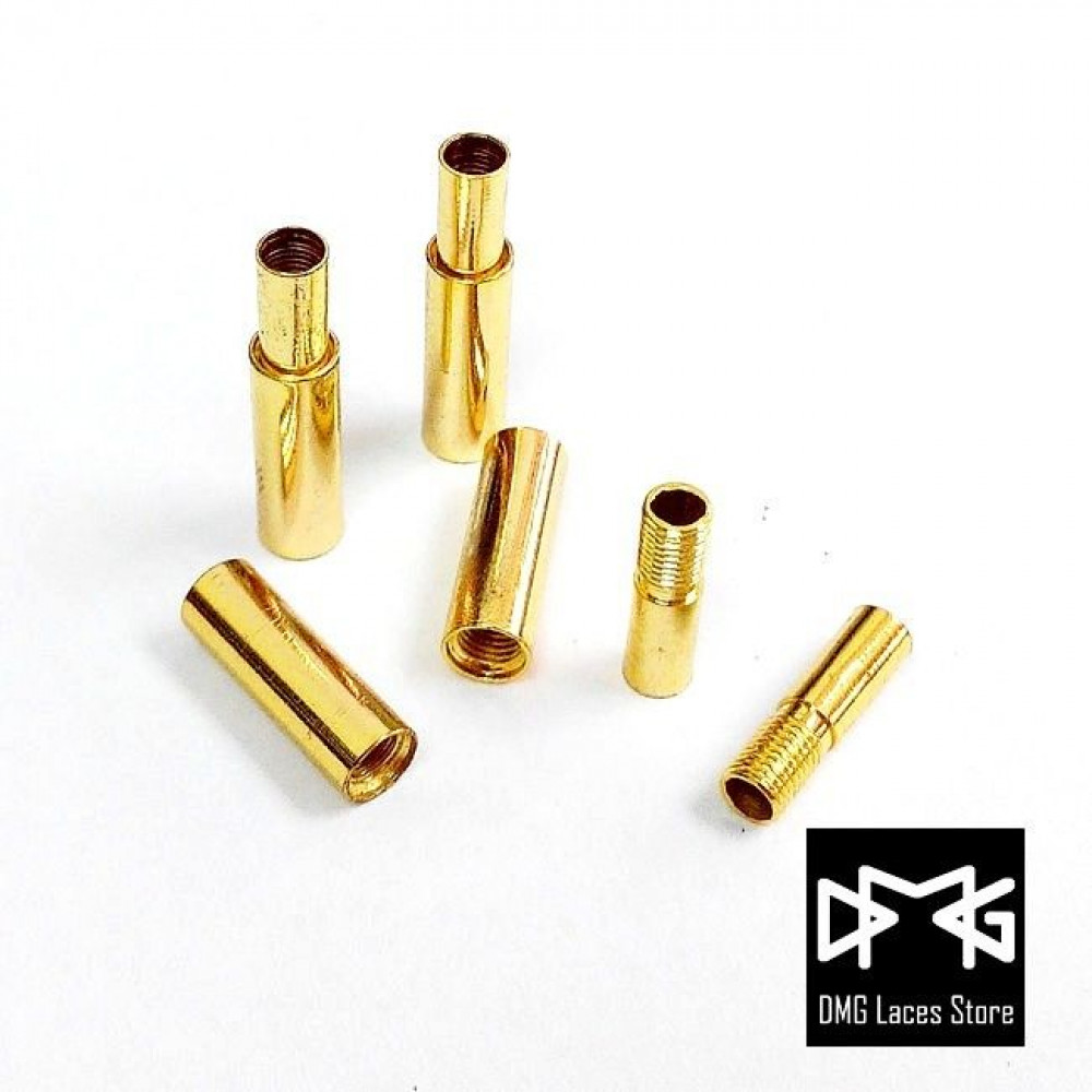 Cylinder Metal Tips ( Gold )